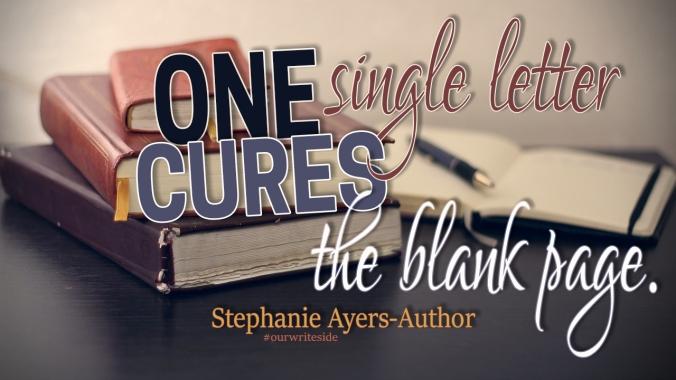 Stephanie Ayers blank page